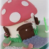 Toadstool by M&G Cakes