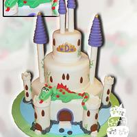 Castle and Dragon birthday