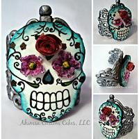 Cookie Skull Ring ~ Tickle My Bones Collaboration
