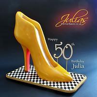 Giant Shoe Cake