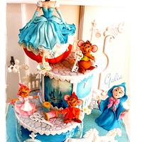 Cake for my daughter...Cinderella