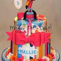 Mallie's Pink Flamingo Cake