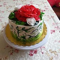 Flower cake by Gabriela Angelova