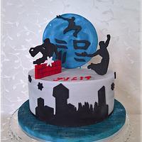 "Sport cake ""Parkour"""