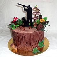 The hunters cake