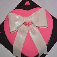 Valentine's Day Birthday Cake by Esther Williams