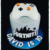 Fortnite gamer