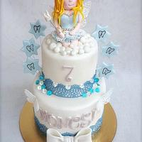 Tooth fairy cake