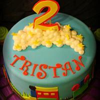 Train Themed Cake by Shey Jimenez