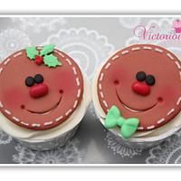 Christmas Cupcakes part 6