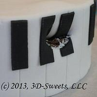 Piano & Roses by 3DSweets