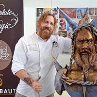 """Viking Warrior"" LIVE CAKE SCULPTING at Cake and Bake Germany"