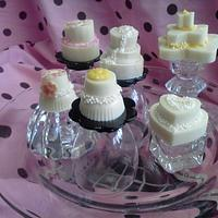 Wedding cake candies by Candylady1