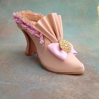 Fondant/gumpaste shoe