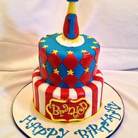 Circus fun times: Birthday Cake