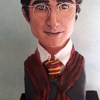 Harry Potter bust cake <3