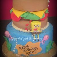 Sponebob Cake