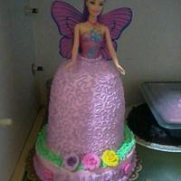 barbie cake by lot
