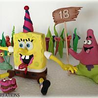 spongebob & friends decorations