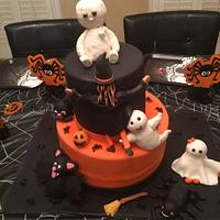 Brothers Halloween cake