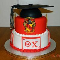Theta Chi Fraternity cake