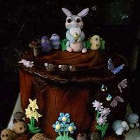 easter cake disney theme thumper