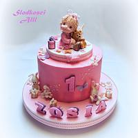 Cute Girls Birthday Cake