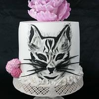 Birthday Cake Kitty Cat