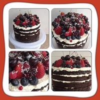 Cream & berries
