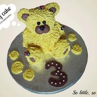 teddy cake... by Piece of cake by Lidia Di Gregorio (Italian cakes)