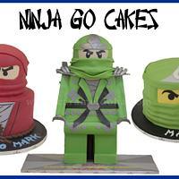 Ninja Go Cakes