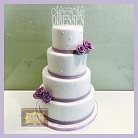 Weddingcake lilac