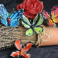 Gum Paste Butterfly
