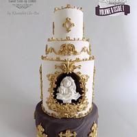 Bernini's Bust of Louis XIV @Cake Central Magazine