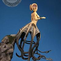 Octo mermaid figurine
