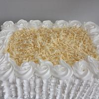 Whipped cream cake