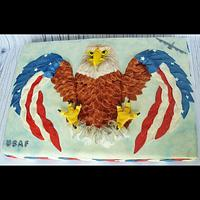 Air Force Sheet Cake