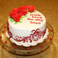 Red Velvet Lovers Cake