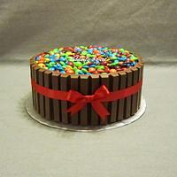 Candy Barrel Cake