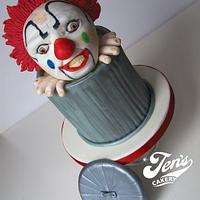 Cyril the evil clown