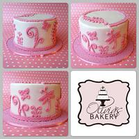 pink pinker pinkest by Olivia's Bakery