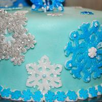 Snowflake Cake by Nicole Taylor