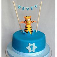 Fun, fun, fun, fun, fun! Tiger Cake