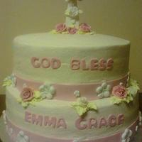 1st communion cake  by CC's Creative Cakes and more...