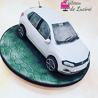 Volkswagen Polo 3D cake