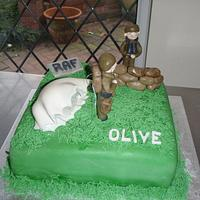 this is an RAF cake
