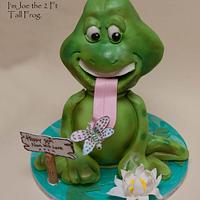Joe the 2ft frog