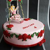 Princess Lillifee cake