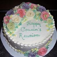 Cousin's Reunion Cake