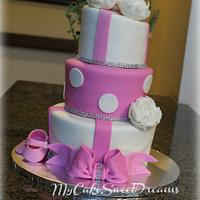 Baby Girl Shower Cake...